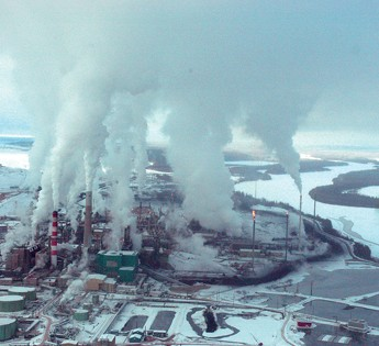 oilsands air quality