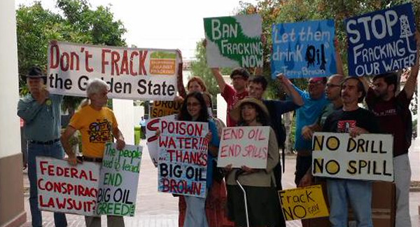 Long Beach fracking