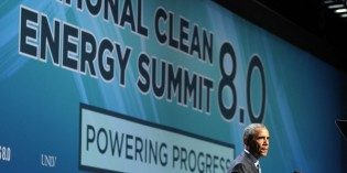National Clean Energy Summit: Obama throws support behind wind, solar power