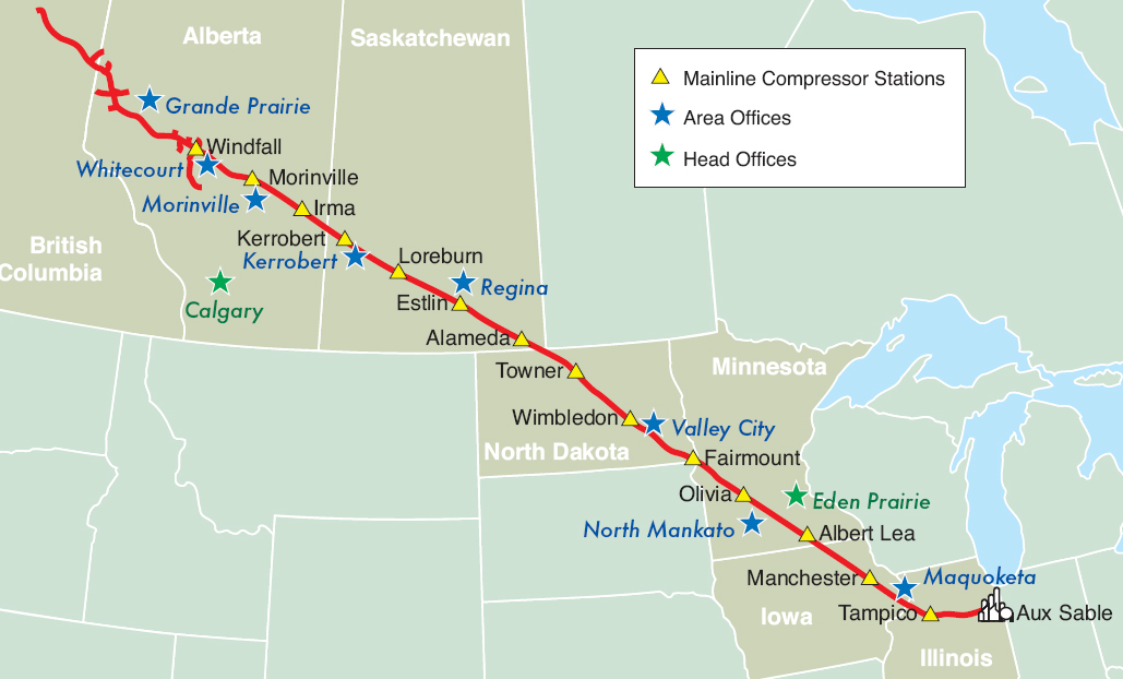 Natural Gas Pipeline Canada Us