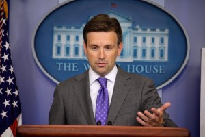 White House Principal Deputy Press Secretary Josh Earnest.