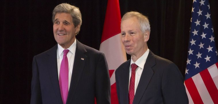 North American foreign ministers