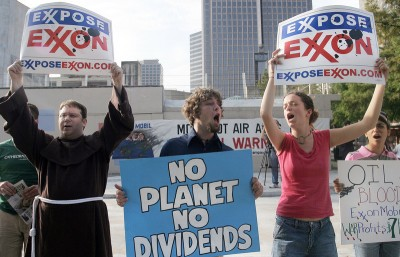 Exxon Protest Photo: Greenpeace