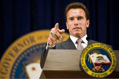 Former California Gov. Arnold Schwarzenegger.