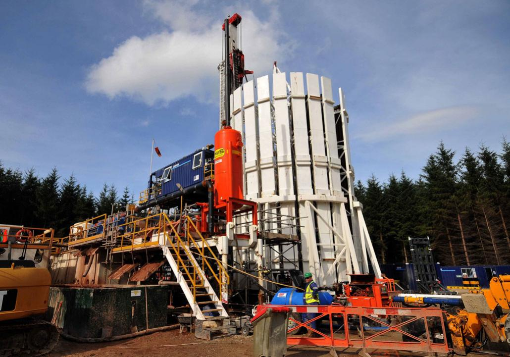 British fracking