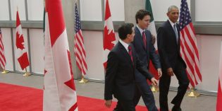 North American leaders pledge to up clean energy production to 50% by 2025