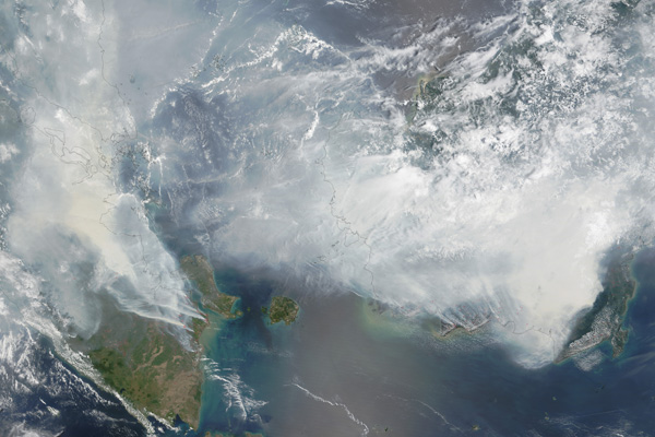 Southeast Asian fires