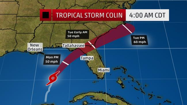 Tropical Storm Colin