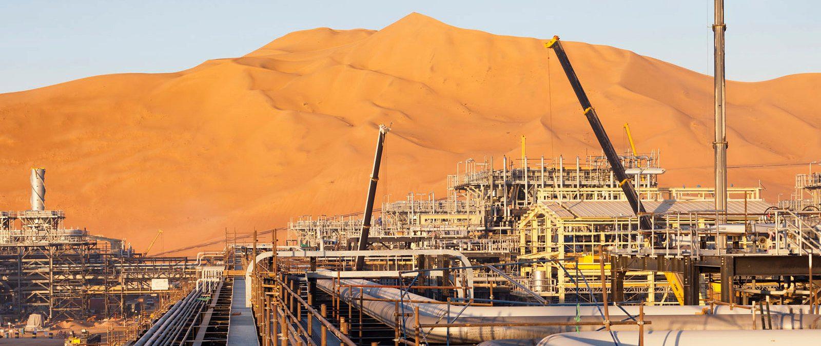 Algerian oil