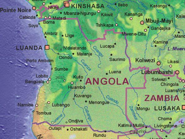 Cabinda enclave