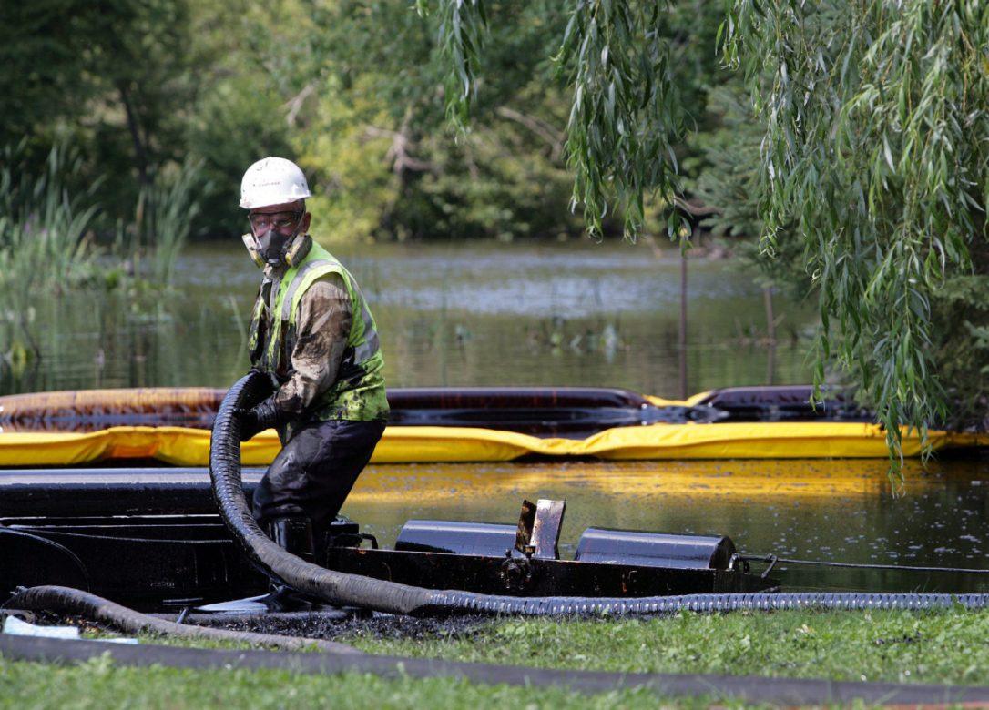 Enbridge oil spills