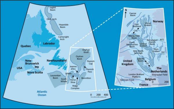 West Orphan Basin