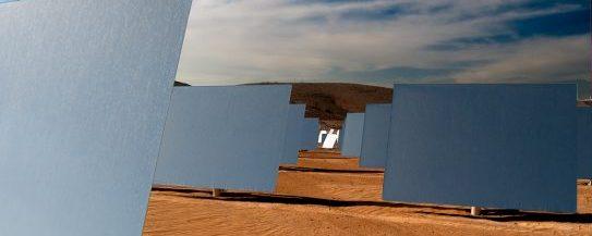 Negev desert solar power