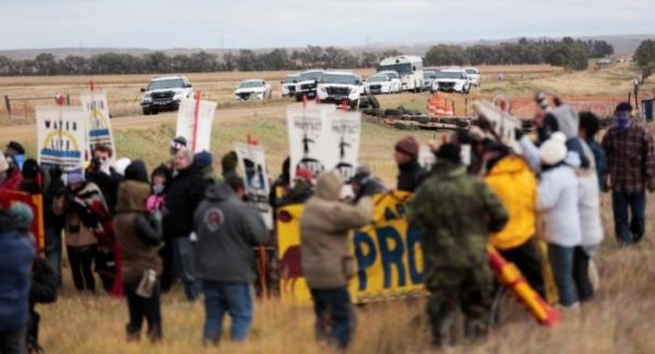 The CEO of Phil... Dapl News Conference
