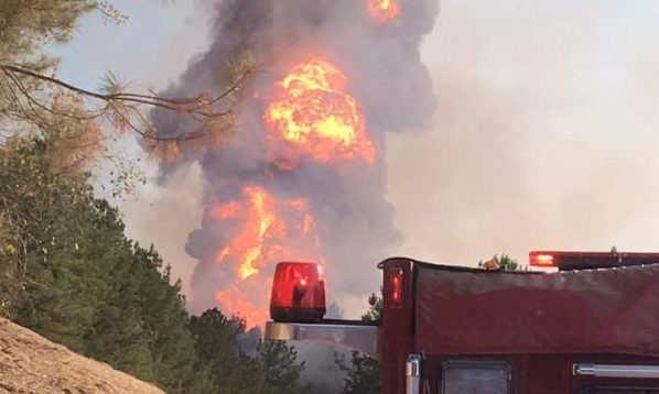 Colonial pipeline explosion