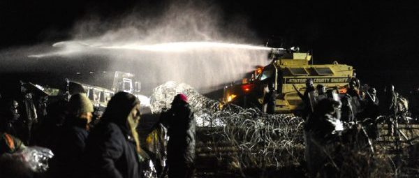Dakota Access protesters