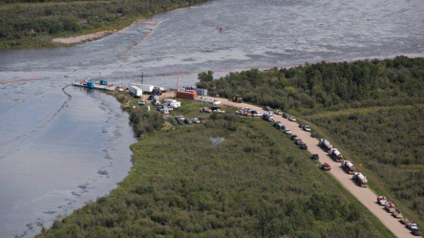 Husky oil spill