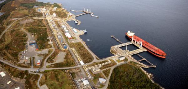 Sture oil terminal