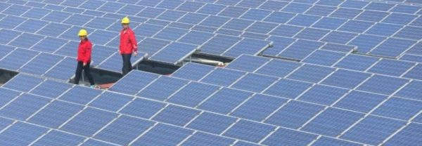 Chinese solar power