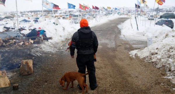 North Dakota tribe says running out of options to stop pipeline
