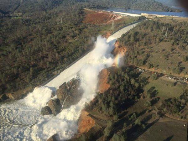Lake Oroville Dam
