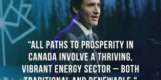 "Trudeau tells Big Oil execs that NEP 'a failure,"" future includes oil, gas, clean energy tech"