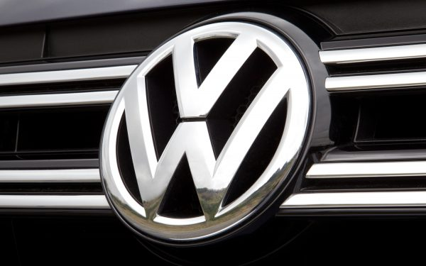 VW self driving car