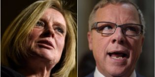 Wall, Notley, Alberta conservatives make for a helluva political threesome