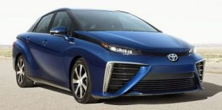 Toyota hydrogen fuel cell vehicle tests begin in China this fall