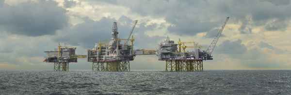North Sea production