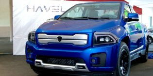Canadian-produced Bison protoype E-pick up truck chock full of interesting tech