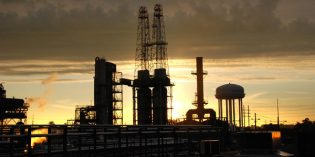 Oil prices up by pennies after data shows significant draw in US crude stocks