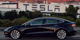 Musk tweets photos as first Model 3 rolls off the assembly line – is this Tesla a game changer?