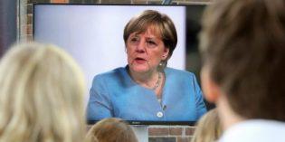 Merkel reaffirms pledge to speed up German transition to EVs