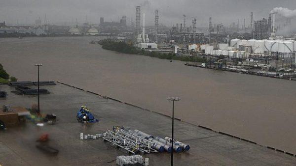 Gulf refineries