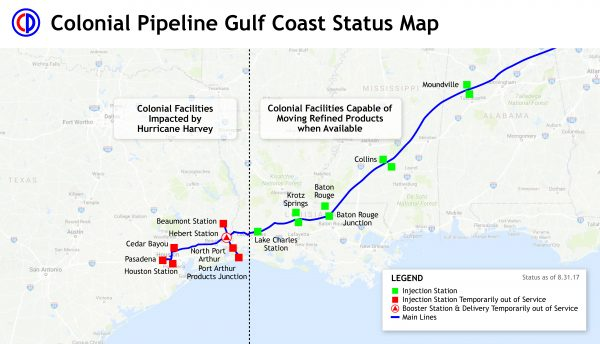 Columbus Gas Prices >> Colonial Pipeline shuts down, East Coast gas shortages ...