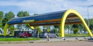 Companies compete to build European EV charging stations