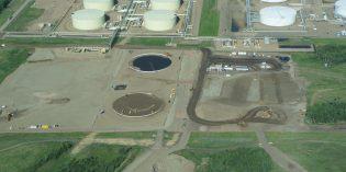 Gibsons Energy building 1.1 million barrel oil sands storage expansion