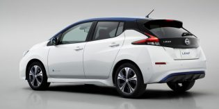 2nd generation Nissan LEAF electric car makes North American debut
