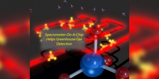 Tiny chip-based methane spectrometer could help reduce natural gas leaks