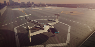 Uber, NASA developing flying taxis system