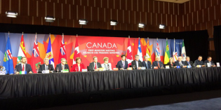 Pan-Canadian framework on clean growth and climate change: 1st year update