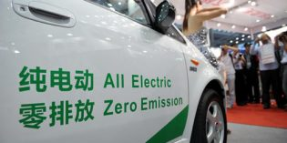 New energy vehicle sales in China to hit 10 per cent by 2019: Gov't