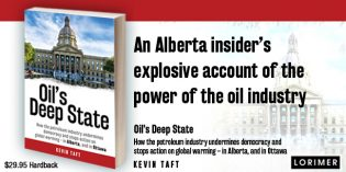 Kevin Taft's claim for Big Oil-controlled Canadian 'deep state' ignores Climate Leadership Plan