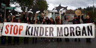 Kinder Morgan Canada shares jump after TMX ruling