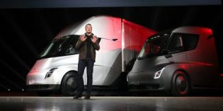 125 Tesla Semi trucks reserved by UPS, largest order ever